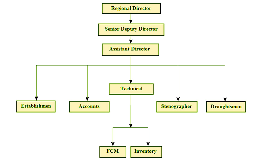 ORGANIZATION STRUCTURE OF FSI, CZ, NAGPUR