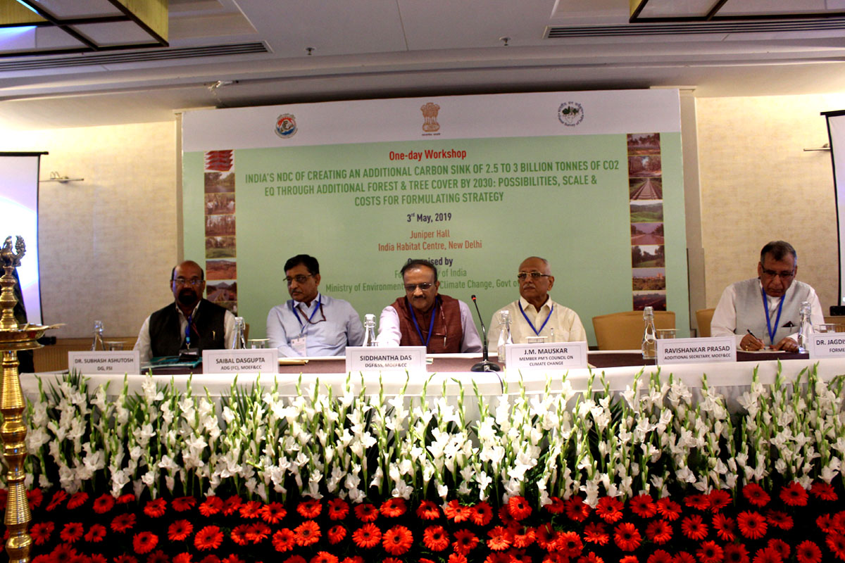 India's Nationally Determined Contribution (NDC) of Creating an Additional Carbon Sink
