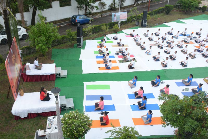 International Yoga Day held at FSI Dehradun on 21st June 2019