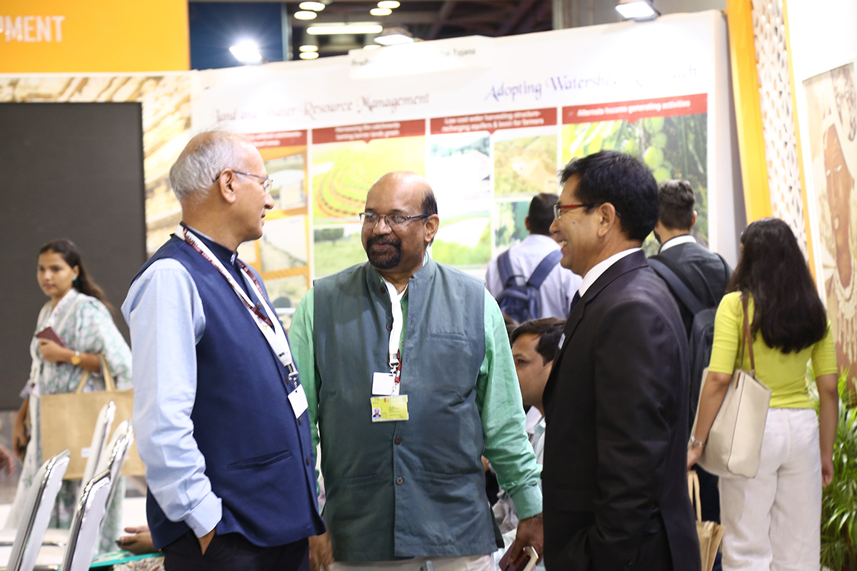 13th September 2019 Trend of Forest Cover in India in the context of Land Degradation Neutrality Event during 14th COP of United Nations Convention to Combat Desertification UNCCD